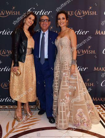 Stock Picture of Marion Easton, Nasser Khalili and Batia Ofer