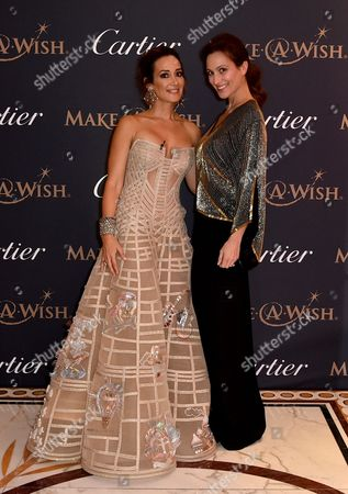 Editorial image of The Art of Wishes Gala Dinner and Auction in aid of children's charity Make-A-Wish Foundation, The Dorchester, London, UK - 02 Oct 2017