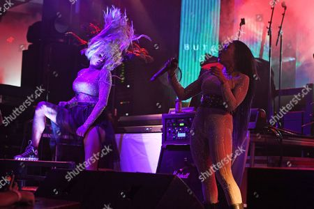 Editorial picture of Butcher Babies in concert at The Culture Room, Fort Lauderdale, USA - 02 Oct 2017