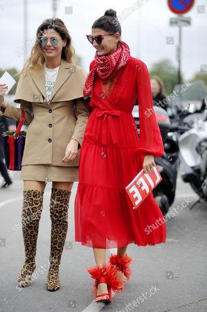 Sara Battaglia and Giovanna Battaglia