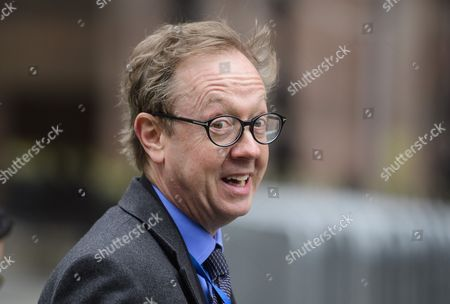 Mail On Sunday newspaper editor Geordie Greig seen at the second day of the Conservative Party Conference.
