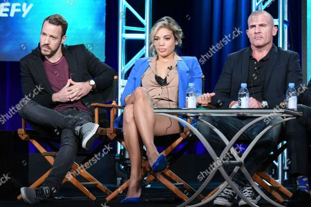 Editorial image of 2016 Winter TCA - The CW, Pasadena, USA