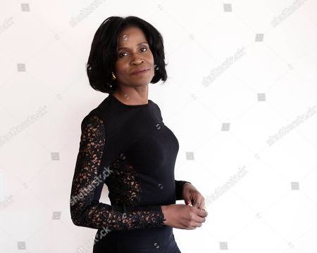 """Writer of upcoming film, """"Belle,"""" Misan Sagay poses for a portrait on in New York"""