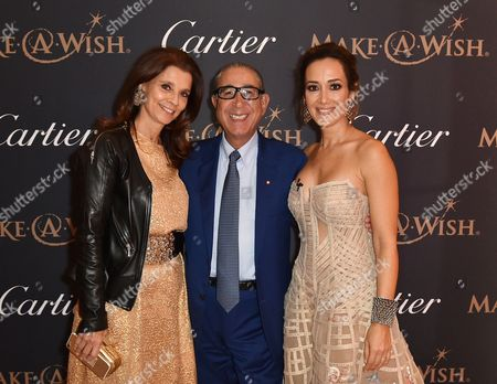 Editorial photo of 'The Art of Wishes' Gala Dinner and Auction in aid of children's charity Make-A-Wish Foundation at The Dorchester, London, UK - 02 Oct 2017