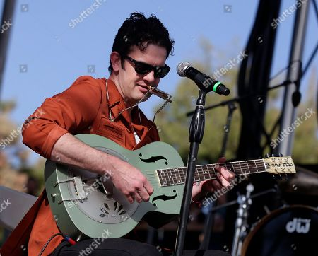 Garrett Dutton of G Love and Special Sauce, performs at the McDowell Mountain Music Festival, on Sunday, March, 30, 2014 in Phoenix, Arizona
