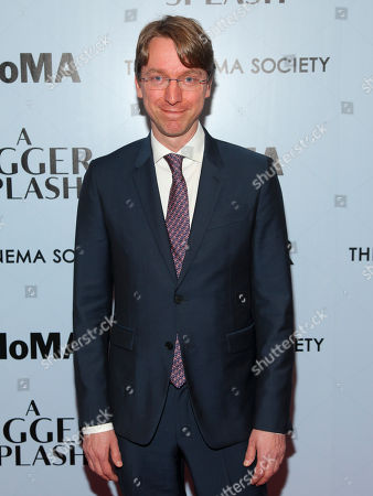 "David Kajganich attends a special screening of ""A Bigger Splash"" at the Museum Of Modern Art, in New York"