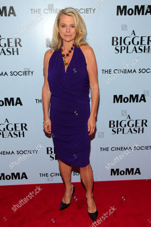 """Debbie Bancroft attends a special screening of """"A Bigger Splash"""" at the Museum Of Modern Art, in New York"""