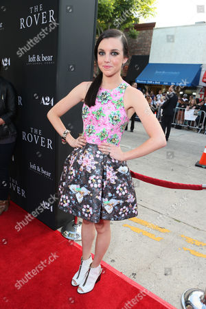 "Claudia Levy at The US Premiere of ""The Rover"" - Red Carpet held at The Regency Bruin Theatre on in Westwood, CA"