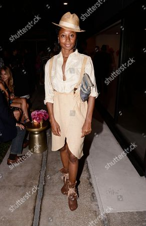 Choreographer Fatima Robinson attends the Vestiaire Collective VIP Cocktail Party hosted by Johnny Wujek at Eric Buterbaugh Flower Design on in Los Angeles