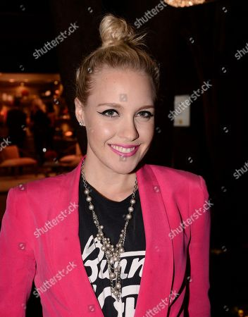 Singer Eden XO attends the Vestiaire Collective VIP Cocktail Party hosted by Johnny Wujek at Eric Buterbaugh Flower Design on in Los Angeles