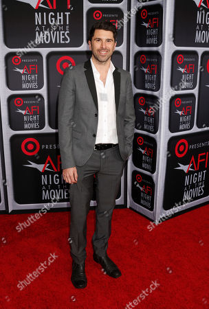 Todd Gallagher arrives at the AFI Night at the Movies at the ArcLight on in Los Angeles