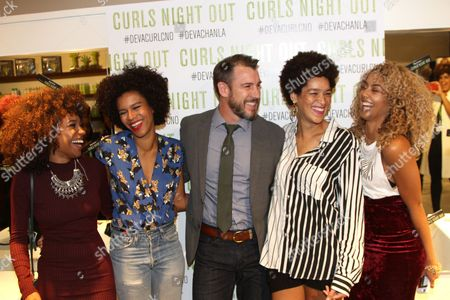 "Editorial photo of DevaCurl ""Curls Night Out"", Los Angeles, USA"