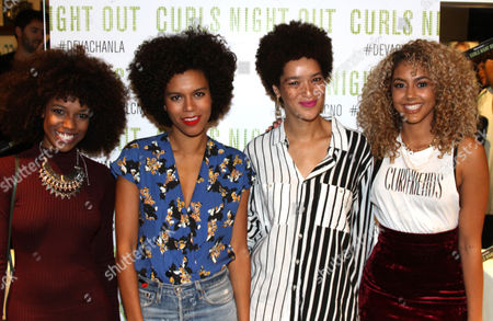 "Editorial image of DevaCurl ""Curls Night Out"", Los Angeles, USA"