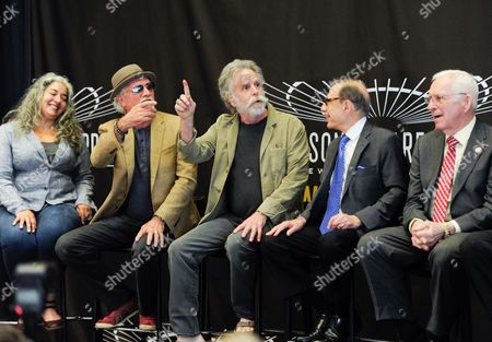 Editorial picture of Madison Square Garden 2015 Walk of Fame Inductions, New York, USA
