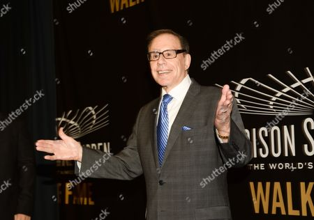 Editorial photo of Madison Square Garden 2015 Walk of Fame Inductions, New York, USA
