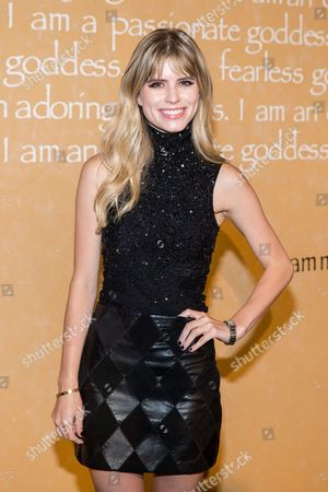 Carlson Young attends the Alice + Olivia by Stacey Bendet Fashion Presentation, in New York