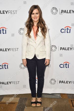 "Zoe Jarman arrives at PALEYFEST 2014 - ""The Mindy Project"", in Los Angeles"