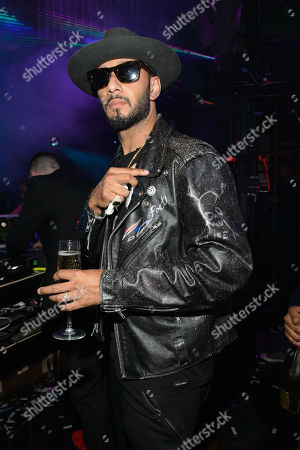 Stock Photo of Dâ?™USSE presents Fight Weekend at Marquee Las Vegas hosted by JAY Z with Swizz Beats in Las Vegas, NV