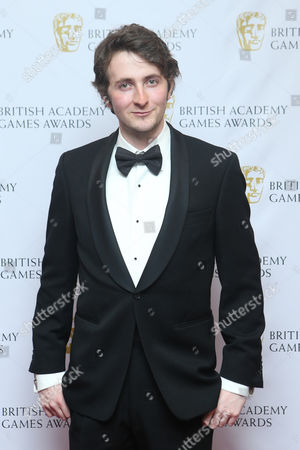 Tom Scurr arrives for the 2013 British Academy Games Awards at the Hilton hotel in central London
