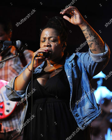Stock Photo of Crystal Monee Hall performs at Revolution Live on in Fort Lauderdale, Florida