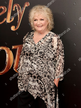 """Mandie Fletcher attends the premiere of """"Absolutely Fabulous: The Movie"""" at the SVA Theatre, in New York"""