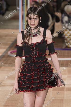 Editorial image of Alexander McQueen show, Runway, Spring Summer 2018, Paris Fashion Week, France - 02 Oct 2017