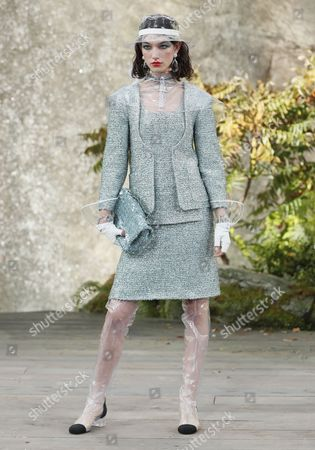 Stock Photo of McKenna Hellam on the catwalk