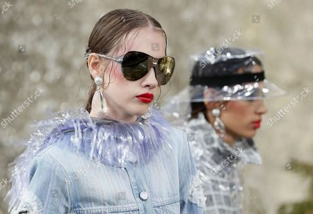 Editorial image of Chanel - Runway - Paris Fashion Week Ready to Wear S/S 2018, France - 03 Oct 2017