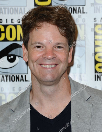"""Stock Photo of Co-executive producer Kevin Shinick attends the """"Robot Chicken"""" press line on day 2 of Comic-Con International, in San Diego, Calif"""