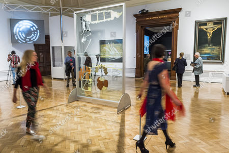 Editorial photo of Dali / Duchamp exhibition, Royal Academy of Arts, London, UK - 03 Oct 2017