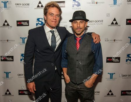 Actor and ensemble member Michael Shannon and Rockit Ranch Productions CEO Billy Dec attend the A Red Orchid Theatre's 21 Annual Gala at the Underground, on in Chicago