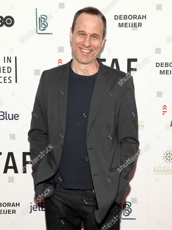 """Stephen Belber attends an Arts in the Armed Forces benefit performance of """"Tape"""" at Studio 54, in New York"""
