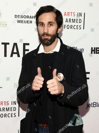 "Stock Picture of Rel Schulman attends an Arts in the Armed Forces benefit performance of ""Tape"" at Studio 54, in New York"