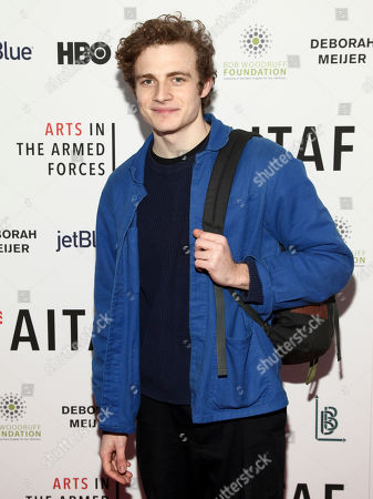 """Ben Rosenfield attends an Arts in the Armed Forces benefit performance of """"Tape"""" at Studio 54, in New York"""