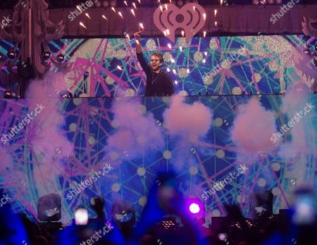 Zedd performs at Z100's iHeartRadio Jingle Ball 2015 in New York. Zedd, The Chainsmokers, Tiesto, Kaskade, Paul Oakenfold and Martin Garrix will perform at the 20th annual Electric Daisy Carnival in Las Vegas on June 17-19
