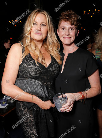 Jennifer Coolidge and Director Jerusha Hess are seen at Sony Pictures Classics 'Austenland' After Party Los Angeles Premiere, on Thursday, August, 8, 2013 in Los Angeles