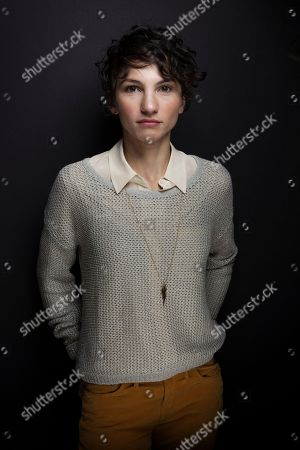 """Stock Image of Manuela Martelli from the film """"Il Futuro,"""" poses for a portrait during the 2013 Sundance Film Festival at the Fender Music Lodge, on in Park City, Utah"""
