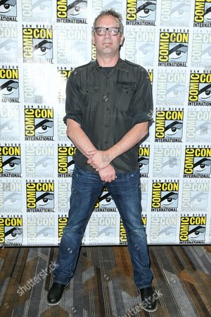 "Stock Picture of Composer Charlie Clouser attends the ""Behind the Music - Crime, Death and Resurrection"" press line on day 1 of Comic-Con International, in San Diego"