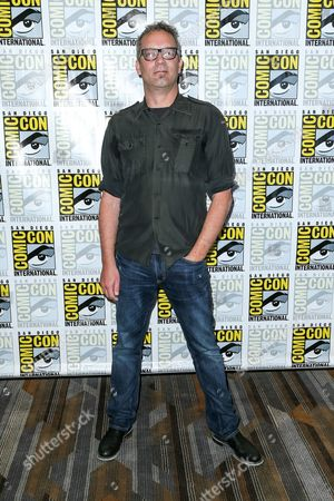 "Stock Photo of Composer Charlie Clouser attends the ""Behind the Music - Crime, Death and Resurrection"" press line on day 1 of Comic-Con International, in San Diego"