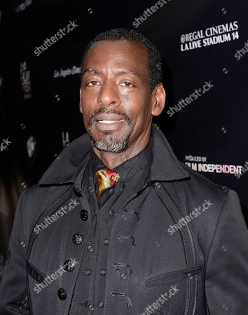"""Film subject Ron Finley attends the Los Angeles Film Festival premiere of """"Can You Dig This?"""" in Los Angeles on"""