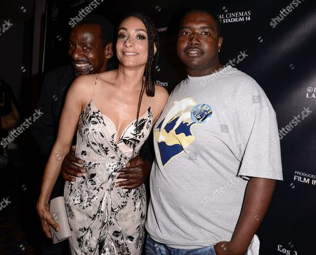 "Director Delila Vallot, left, and film subject Mychael Evans attend the Los Angeles Film Festival premiere of ""Can You Dig This?"" in Los Angeles on"