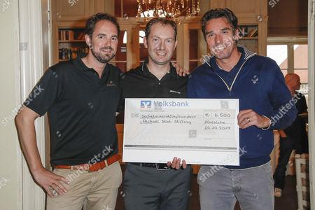 Axel Kmonitzek, Markus Stockfleth and Michael Stich