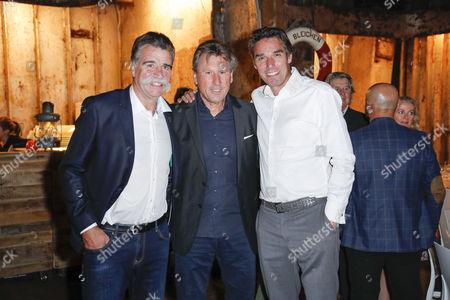Heiner Brand, Manfred Kaltz and Michael Stich..