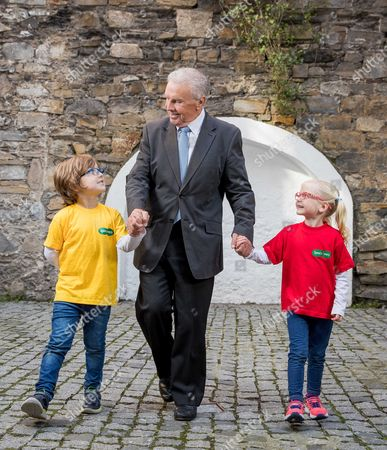 Editorial photo of Johnny Giles Launches Specsavers Grandparent Of The Year Award 2017, Dublin  - 03 Oct 2017