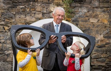 Editorial image of Johnny Giles Launches Specsavers Grandparent Of The Year Award 2017, Dublin  - 03 Oct 2017