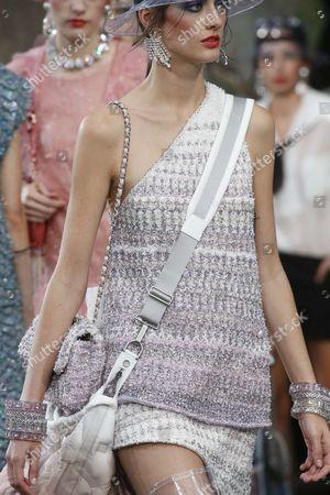 Stock Photo of Amanda Googe on the catwalk