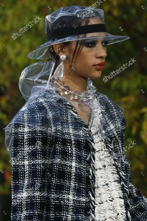Editorial picture of Chanel show, Spring Summer 2018, Paris Fashion Week, France - 03 Oct 2017