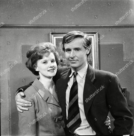 Patricia Shakesby (as Susan Cunningham) and William Roache (as Ken Barlow)