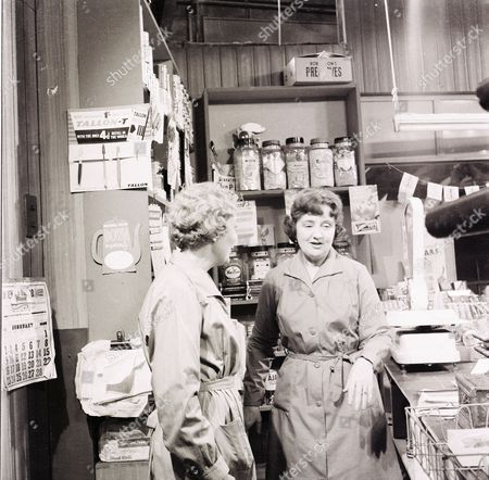 """Editorial picture of """"Coronation Street"""" TV Series - 1960"""