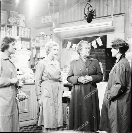 Maudie Edwards (as Elsie Lappin), Betty Alberge (as Florrie Lindley) and Violet Carson (as Ena Sharples)